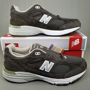 New Balance 993 Made in USA Running Shoes Green